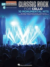 HAL LEONARD Classic Rock for Cello-10 Monumental Hits (cello and audo access to playalong track included)