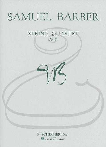 Schirmer Barber: String Quartet, Op.11 - Adagio for Strings (string quartet) Schirmer