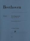 HAL LEONARD Beethoven, L. van: String Quartets Op.59, 74, 95, urtext (set of parts)