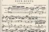 International Music Company Bach, J.S.: Four Duets for (violin, cello) IMC