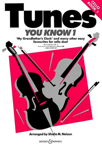 HAL LEONARD Nelson, S: Tunes You Know, Book 1 (2 cellos)