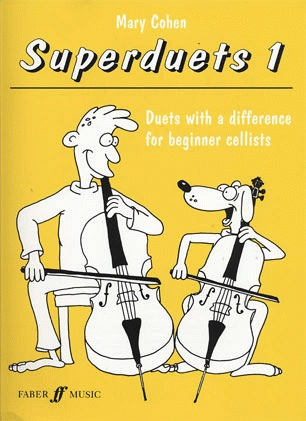 Faber Music Cohen, Mary: Superduets for Beginner Cellists Book 1 (2 cellos)