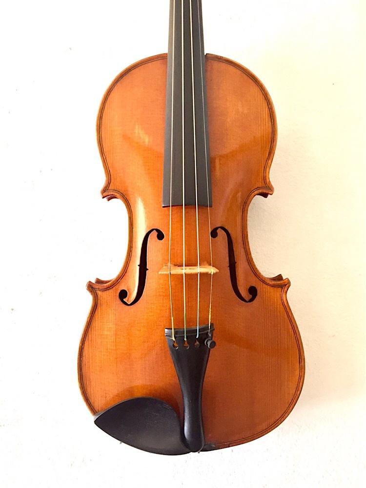 English J. E. Harris English 4/4 violin 1925 Gateshead