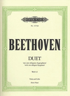 Beethoven, L.V. (Stein/Haas): Duet ''with Two Obligato Eyeglasses'' WoO32 (viola and cello)