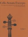 E & E Cello Music E&E: Excerpts from Famous Sonatas Vol.2 (2 cellos)