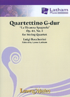 "LudwigMasters Boccherini, L. (Latham): Quartettino in G Major, ""La Tiranna Spagnola"", Op. 44, No. 4 (2 violins, viola, cello, and score)"