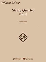 HAL LEONARD Bolcom, W.: String Quartet, No. 1 (parts and score)