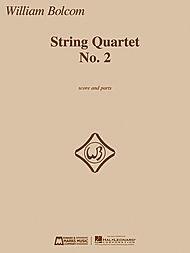 HAL LEONARD Bolcom, W.: String Quartet No. 2 (score and parts)