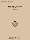 HAL LEONARD Bolcom, W.: String Quartet, No. 4 (score and parts)
