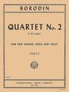 International Music Company Borodin: (parts) String Quartet No.2 in D Major (string quartet) IMC