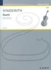 HAL LEONARD Hindemith: Duett for Two Violoncellos (2 cellos) Schott