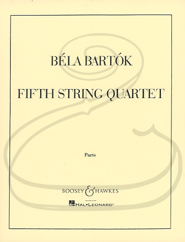 HAL LEONARD Bartok: String Quartet No.5 (1934) (string quartet) Boosey & Hawkes