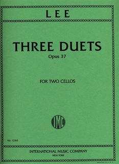 International Music Company Lee: Three Duets Op.37 (2 Cellos)