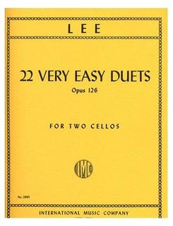 International Music Company Lee: 6 Duets Op.60 Vol.1 (2 Cellos)