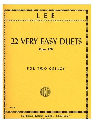 International Music Company Lee: 6 Duets Op.60 Vol.1 (2 Cellos)