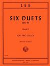 International Music Company Lee: 6 Duets Op.60 Vol.2 (2 Cellos)