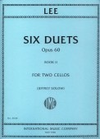 International Music Company Lee (Solow): 6 Duets Op.60 Vol.2 (2 Cellos)