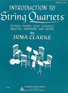 HAL LEONARD Clarke, Irma: Introduction to String Quartets Vol.2 (score & parts, optional 3rd violin part is the same as the viola part)