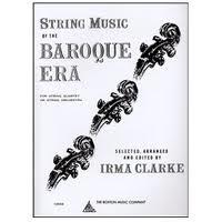 HAL LEONARD Clarke, Irma: String Music of the Baroque Era (string quartet) score & parts