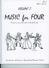 Last Resort Music Publishing Kelley, Daniel: Music for Four Vol.2 Favorites from the Baroque, Classical & Romantic Periods (cello)