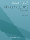HAL LEONARD Clyne: Primula Vulgaris (string quartet) B&H