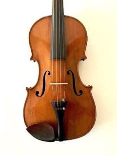 """Old German 15.5"""" viola, unlabeled"""