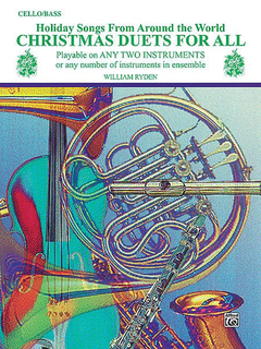 Alfred Music Ryden, W.: Christmas Duets For All (two cellos)