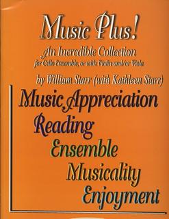 Starr, William: Music Plus! (2 cellos)
