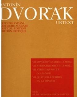 Barenreiter Dvorak, Antonin: String Quartet No. 7 in A minor Op. 16