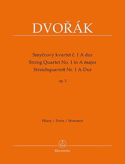 Barenreiter Dvorak, Antonin: String Quartet No.1 in A minor Op 2