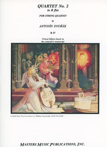 LudwigMasters Dvorak, Antonin: String Quartet No.2 in Bb