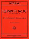International Music Company Dvorak, Antonin: Quartet No. 10 in E flat major, Opus 51