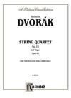 Alfred Music Dvorak, Antonin: String Quartet No. 12 in F major, Op. 96