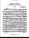 Dvorak, Antonin: String Quartet in f minor, Op. 9