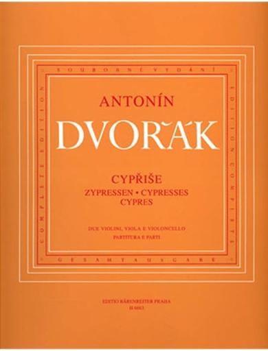 Barenreiter Dvorak, Antonin: Cypresses (String Quartet) Barenreiter