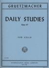 International Music Company Gruetzmacher: Daily Studies Op.67 (cello)
