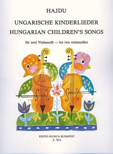 HAL LEONARD Hajdu, Mihaly: Hungarian Children's Songs (cello & piano)