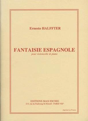 HAL LEONARD Halffter, Ernesto: Fantaisie Espagnole (cello & piano)
