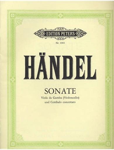 Handel, G.F.: Sonata in C Major (cello & piano)