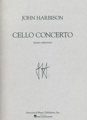HAL LEONARD Harbison, John: Cello Concerto (cello & piano)