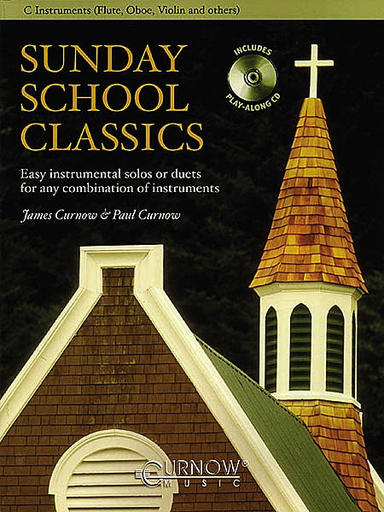 HAL LEONARD Curnow, James & Paul: Sunday School Classics (violin & CD) (2 violins & CD)
