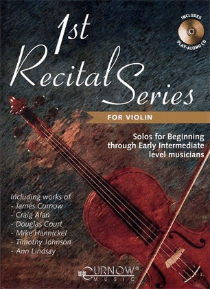 HAL LEONARD Curnow, James: 1st Recital Series for Violin (violin & CD)