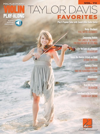 HAL LEONARD Davis: Taylor Davis Favorites (violin & media access) HL