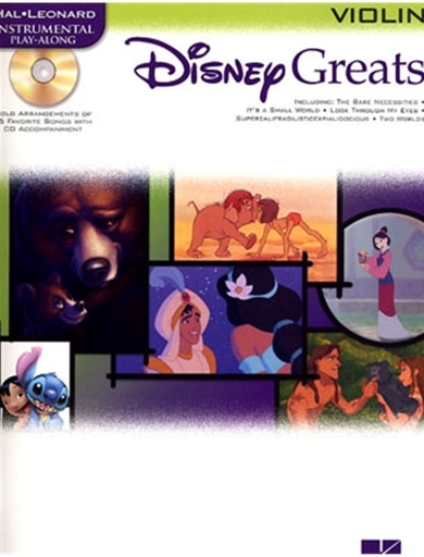 HAL LEONARD Disney Greats (violin & CD)