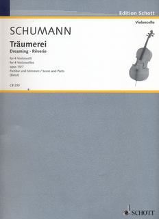 HAL LEONARD Schumann, Robert: Traumerei, Op. 15 No. 7 (4 cellos)