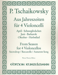 Tchaikovsky, P.I.: From Seasons (4 cellos)