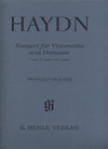 HAL LEONARD Haydn, F.J. (Gerlach): Concerto in C Major, Hob.VIIb: 1 - URTEXT (cello & piano)