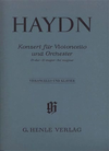 HAL LEONARD Haydn, F.J. (Gerlach): Concerto for Violoncello and Orchestra in D Major, Hob.VIIb: 2 urtext (cello, and piano reduction)