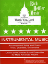 Heffler, R.: Thank You, Lord (cello & piano)