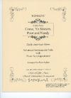 David E. Smith Heffler, R: Come, Ye Sinners, Poor and Needy (cello & piano)